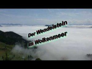 Der Wendelstein im Wolkenmeer